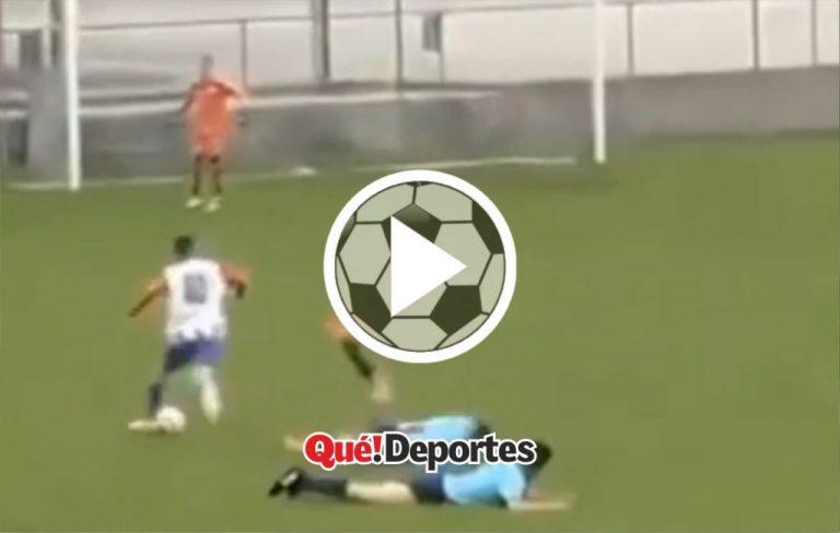 Así se hace un 2×1 de defensores ¡Ni Messi lo hace!
