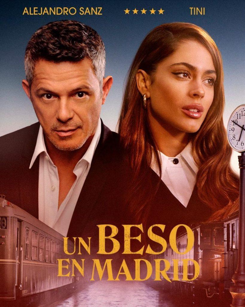 Alejandro Sanz Tini Un beso en Madrid