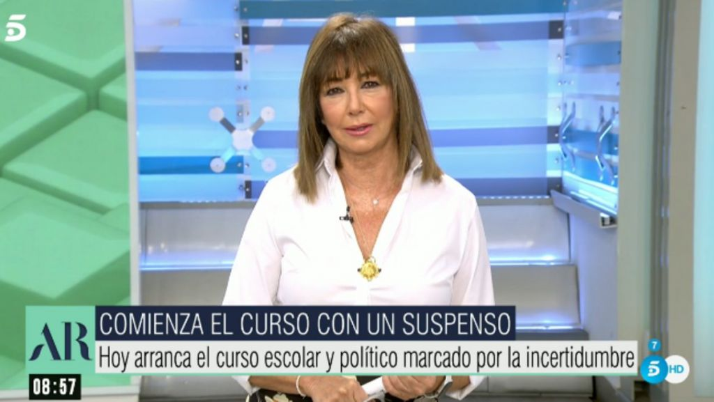 La transformación como periodista de Ana Rosa Quintana