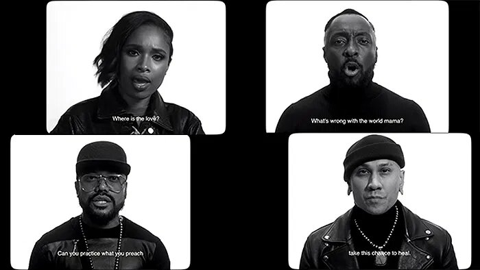 'The LOVE', el apoyo de Black Eyed Peas y Jennifer Hudson