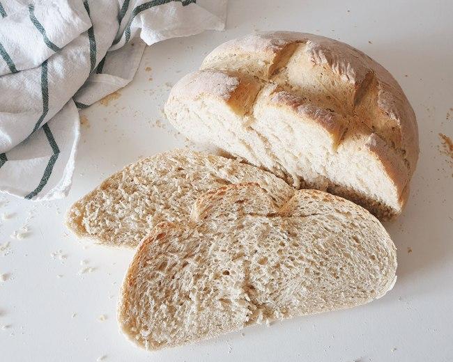 Cómo hacer un pan de masa madre en la Thermomix en 45 minutos
