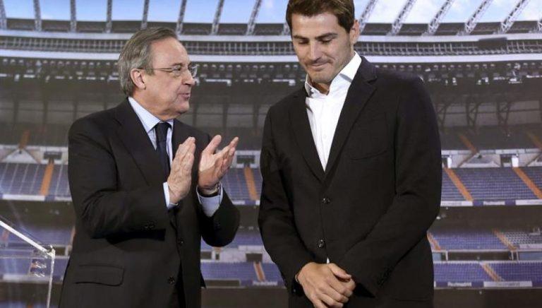 Iker Casillas. ¿un problema para Florentino Pérez?