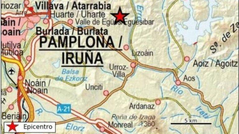 Continúan los terremotos en Navarra con más de una veintena de temblores