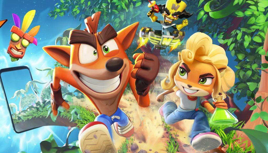 Crash Bandicoot llegará a los móviles de la mano de King en la primavera de 2021