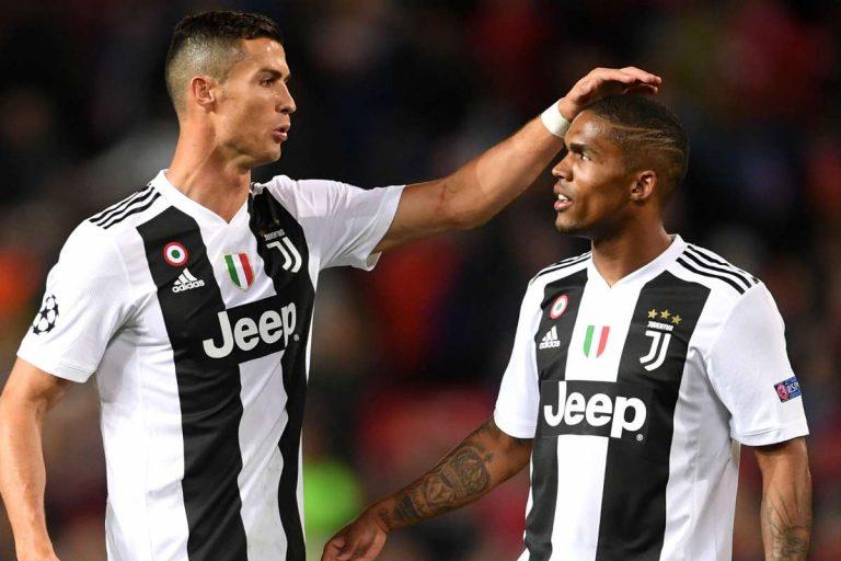 Cristiano Ronaldo enfadado por la muy posible marcha de Douglas Costa
