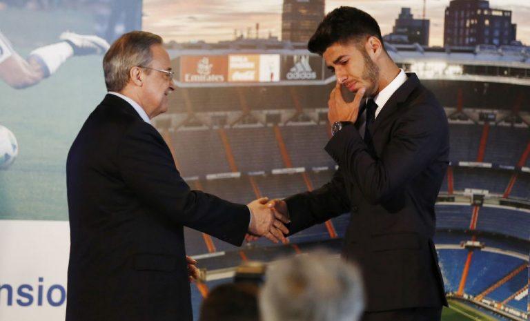 El conflicto entre Marco Asensio y Florentino Pérez por Odegaard