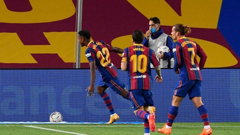 Un sólido Getafe se impone por la mínima a un flojo Barcelona
