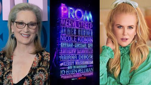 Una alianza con los grandes 'The Prom' con Nicole Kidman, Meryl Streep y Ryan Murphy