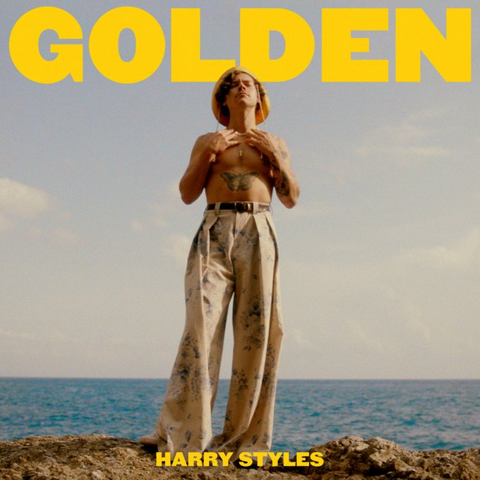 Harry Styles Golden Fine line