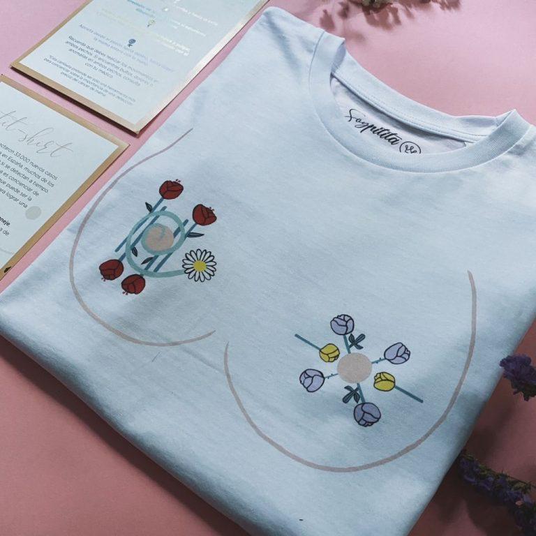 Esta es la camiseta solidaria que te ayuda a detectar el cáncer de mama