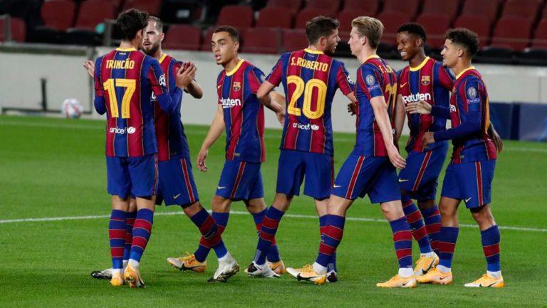 Juventus 0- Barcelona 2: gran partido coral que afianza el liderato del grupo