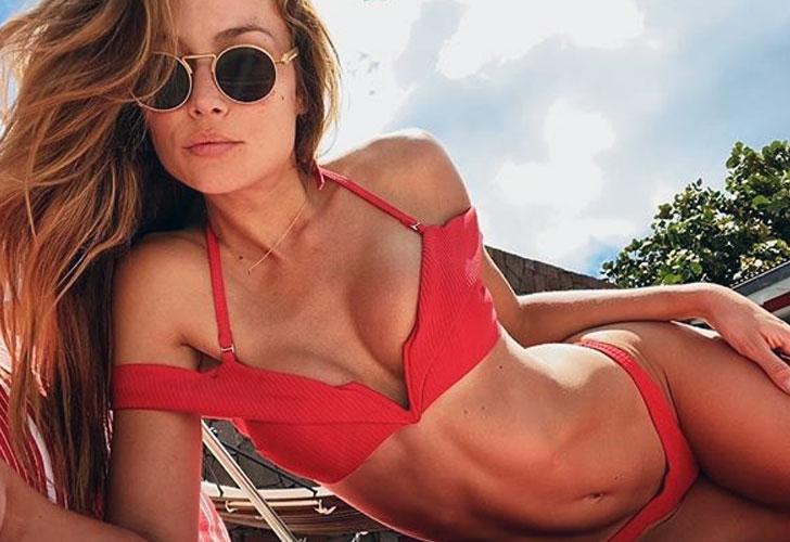 Natalia Borges, la sexy actriz que sedujo a Lavezzi