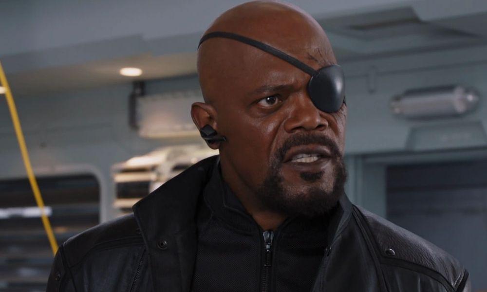 Samuel L Jackson, como Nick Fury para Disney +