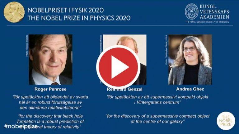 Los eruditos del agujero negro reciben el premio Nobel