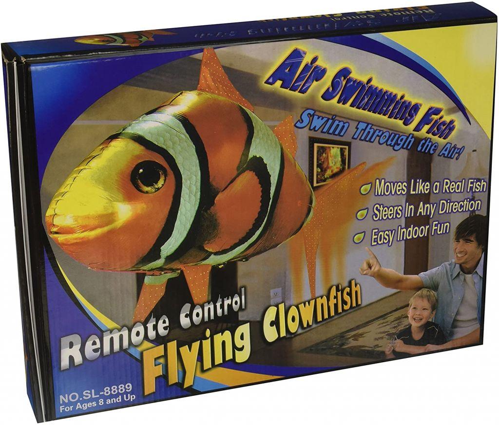 Pez volador con control remoto (16 euros)