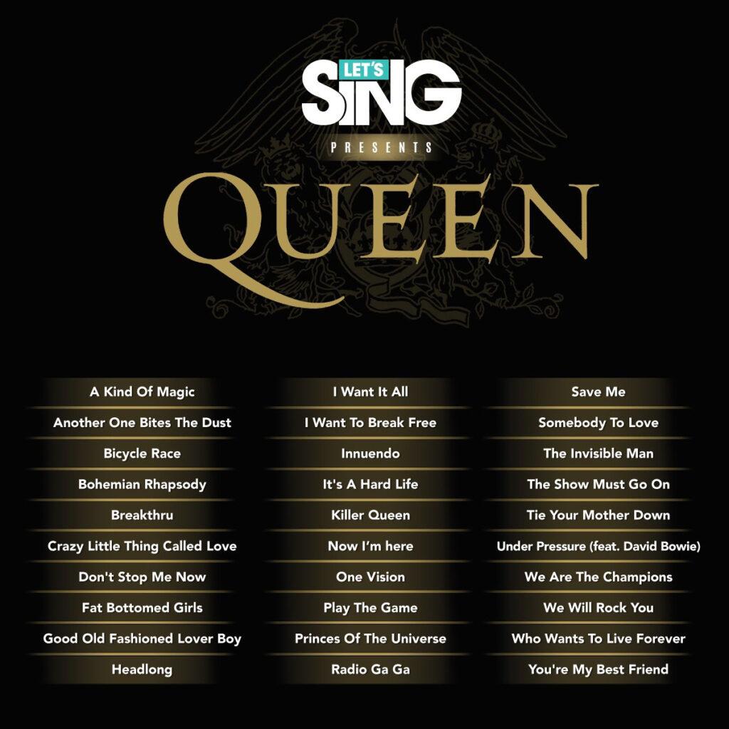 Let's Sing Queen – Tu karaoke más completo de Queen