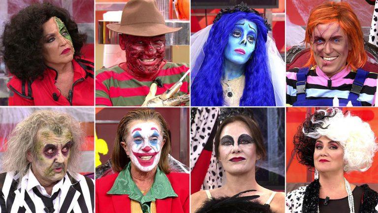 Halloween en Sálvame: Los disfraces más aterradores de los colaboradores