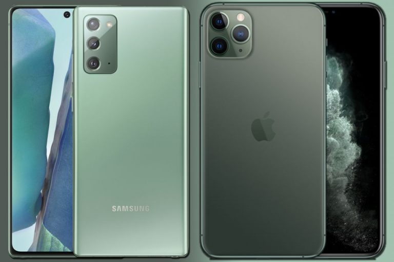 IPhone 12 vs Samsung Galaxy Note 20: te desvelamos cuál es mejor