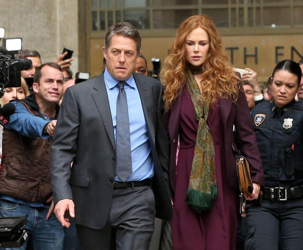 Nicole Kidman y Hugh Grant en The Undoing