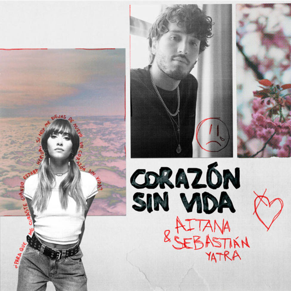 Aitana y Sebastian Yatra corazón sin vida