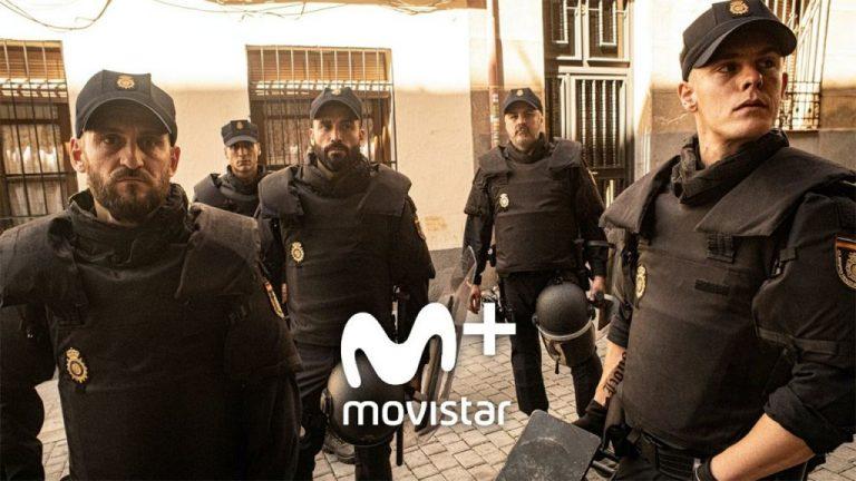 Así es 'Antidisturbios', la serie de Movistar+ policíaca que rompe moldes