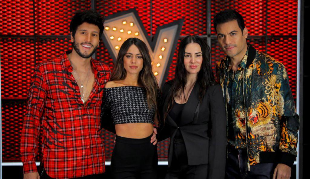 Sebastian Yatra, Tini Stoessel, Mala Rodríguez y Carlos Rivera, asesores de 'La Voz España 2020'