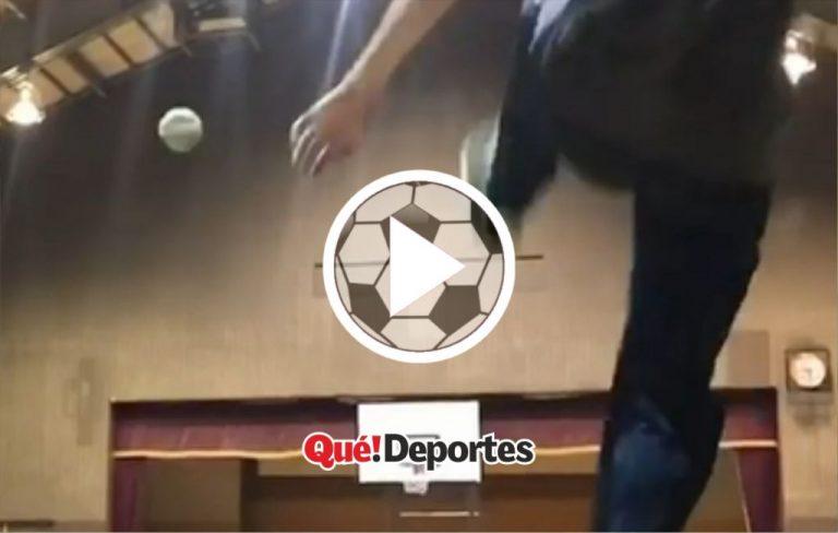 #GolazoDelDía ¡Un triple con el pie desde mitad de campo!