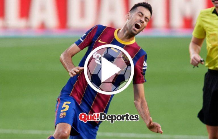El imposible gol de Sergio Busquets que nunca se podrá volver a ver