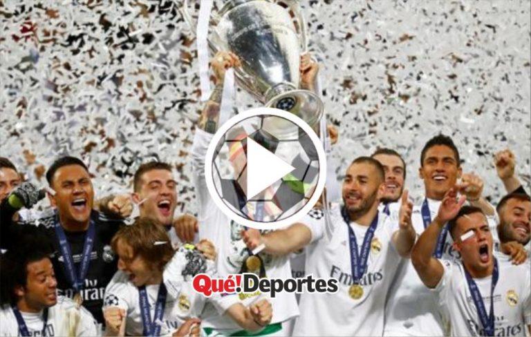 Así se siente ganar la Champions por primera vez