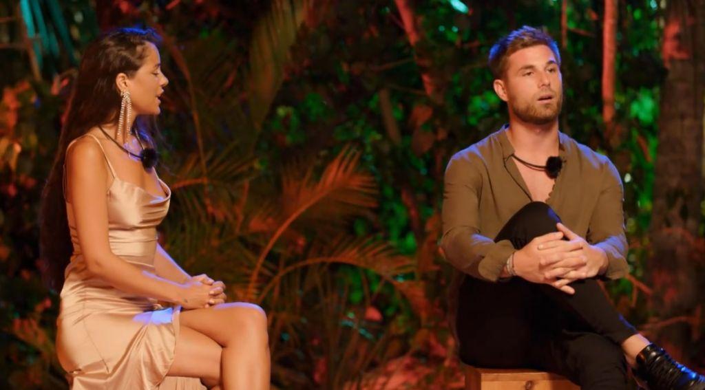 Hoguera de Melyssa y Tom en La isla de las tentaciones: «Me disgustas»