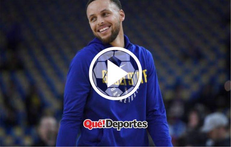 Stephen Curry abusando de sus habilidades