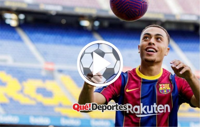 Presentación de Dest en el Barcelona ¡Messi se quiere ir ya!
