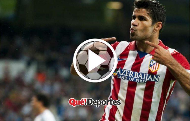 Diego Costa haciendo lo que mejor sabe hacer (y no es jugar al fútbol)