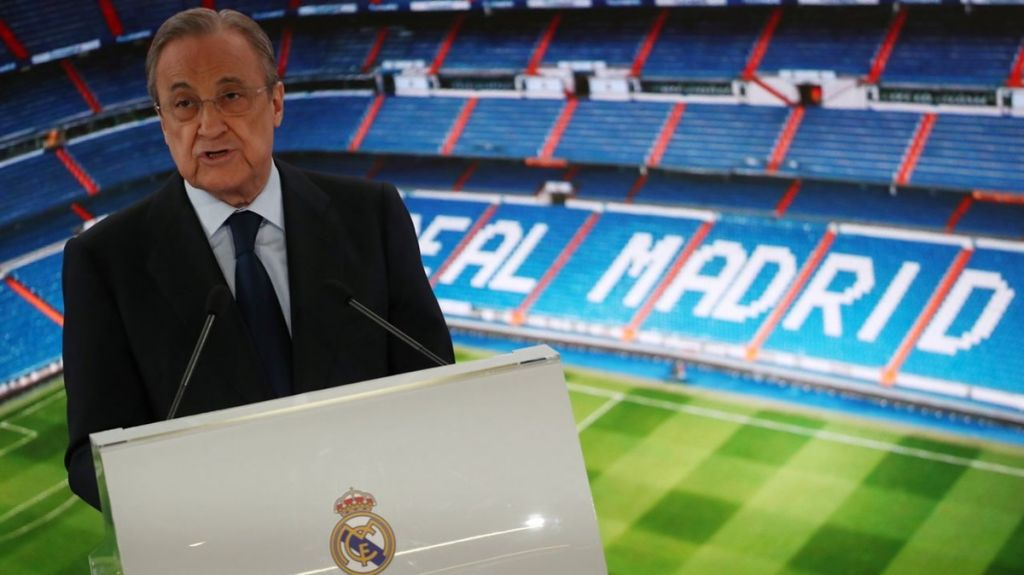 Florentino Pérez / Mikel Oyarzabal, cedidos Real Madrid, 140M