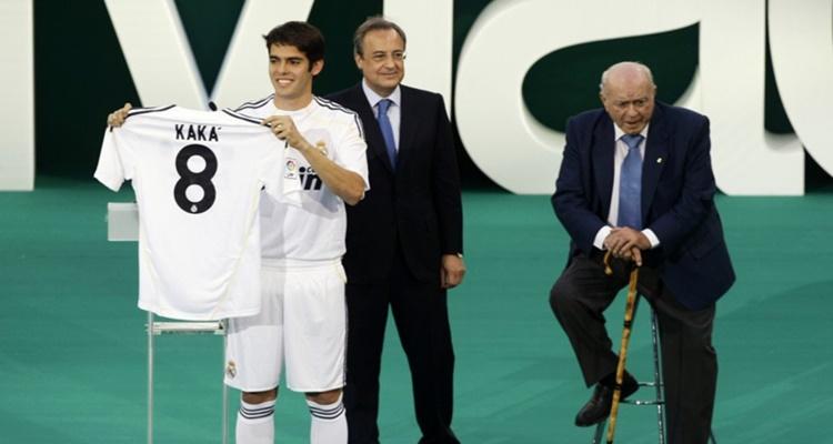 Kaká, Florentino Pérez, Real Madrid