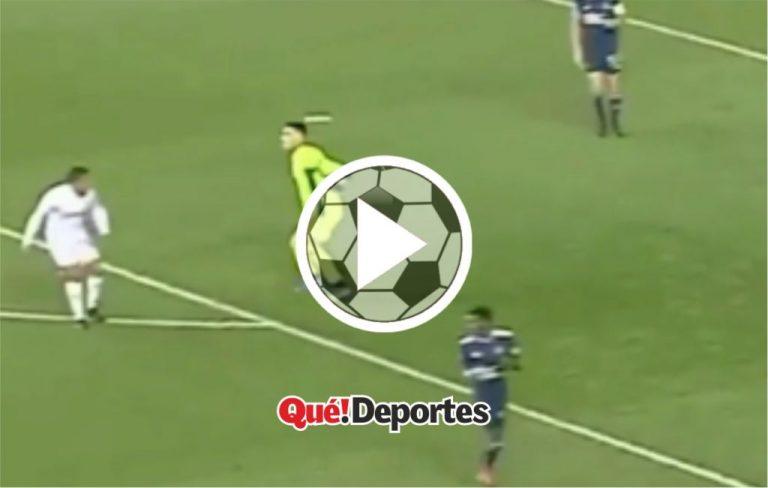 ¿Es este el gol más insólito de la historia?