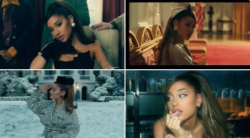 Posiciones de Ariana Grande