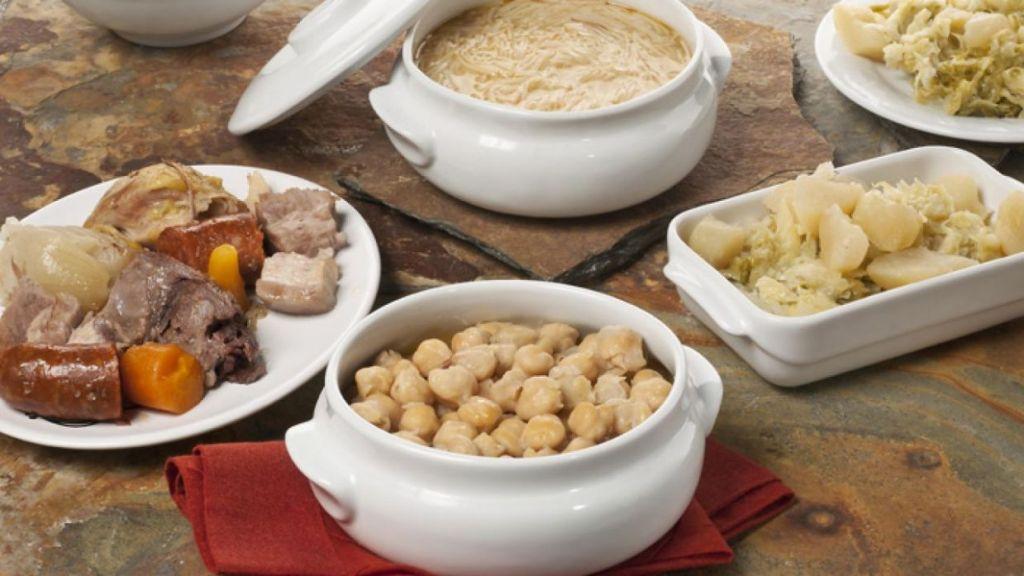 ingredientes cocido madrileño