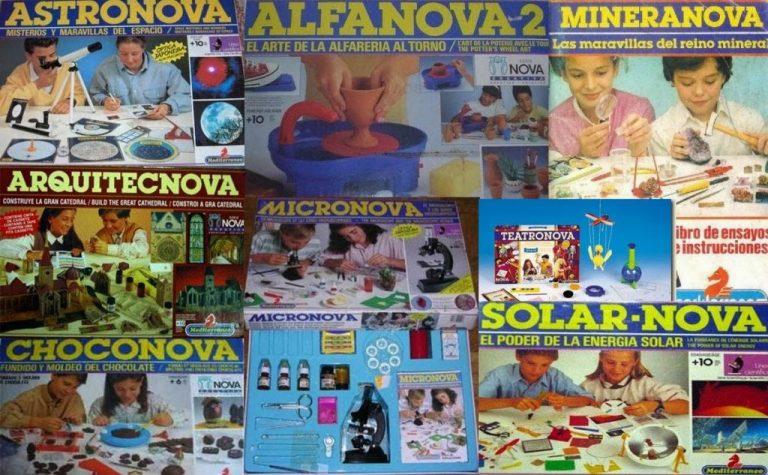 Choconova, Alfanova y otras cajas de la familia Nova que estuvieron en tu infancia