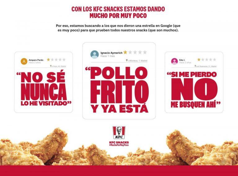 El invento de KFC para agradar a los que le dejan malas opiniones