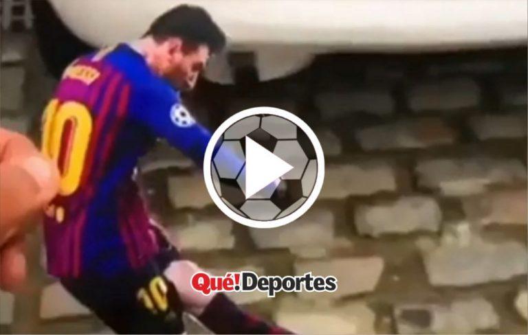 ¡Al fin Messi y Cristiano jugando juntos!