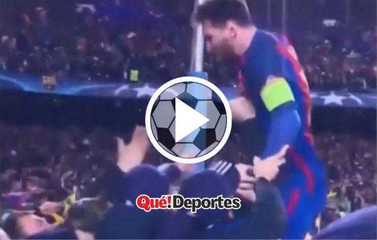 El festejo mas icónico de Lionel Messi en el Barcelona ¡Intenta no llorar!