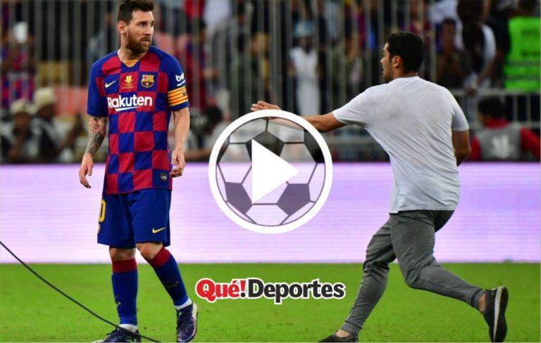 Hombre rendido ante los pies de Messi recibe regalo inolvidable
