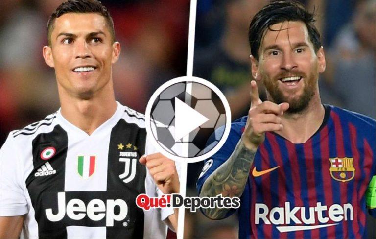 Impecable comparación entre Lionel Messi y Cristiano Ronaldo