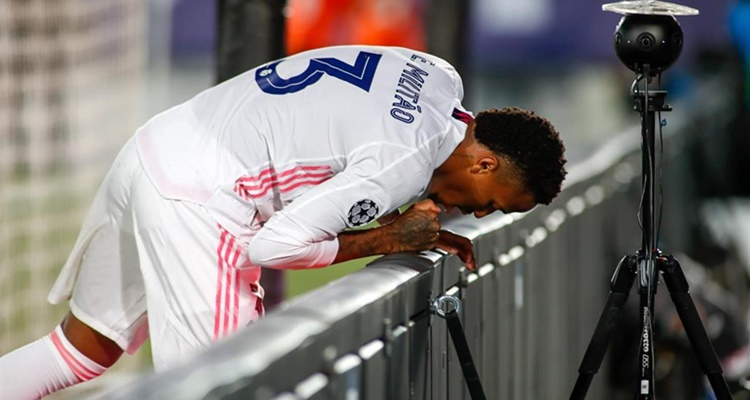 Militao, Champions, Real Madrid