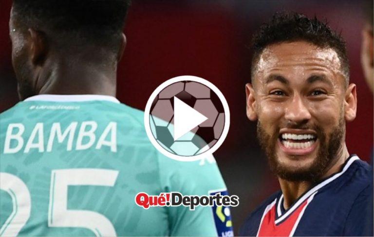 La soberbia de Neymar con cargada incluida al rival