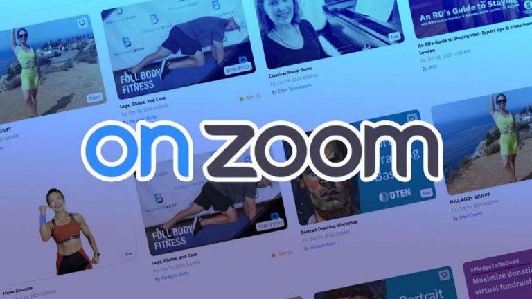 Así es OnZoom, la plataforma de compraventa de experiencias online