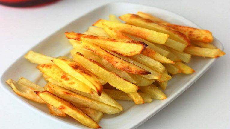 Cómo hacer unas patatas fritas que no engorden