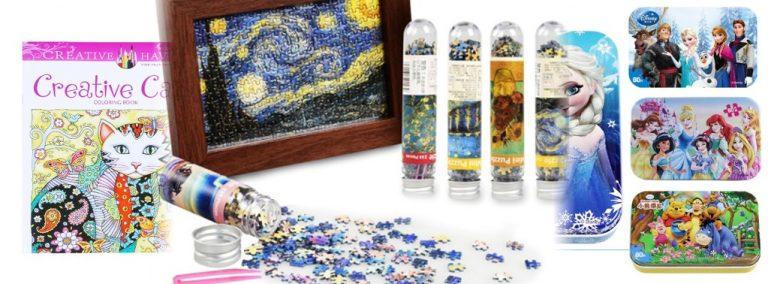Aliexpress: puzzles y mandalas muy increíbles para hacer en tu tiempo de descanso