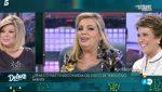 Carmen Borrego se somete al polideluxe de Sálvame.